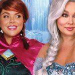 Algunas modelos de tallas grandes se disfrazan de princesas de Disney para crear conciencia pública