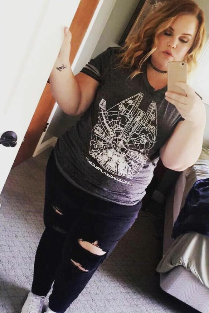 """Su ex mantuvo su """"secreto"""" debido a su peso, y ahora ha perdido 90 kg"""
