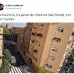El paso de peatones más loco que verás en España