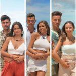 """Dos concursantes de """"La isla de las tentaciones 3"""" se reunieron frente a un reality show"""