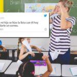 Pelea entre madre y maestra después del curso en línea