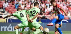 Bloqueo e impotencia del Atlético ante un Atlético destacado
